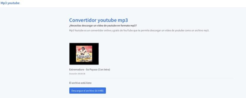 Descargar vídeos de YouTube con MP3 Youtube
