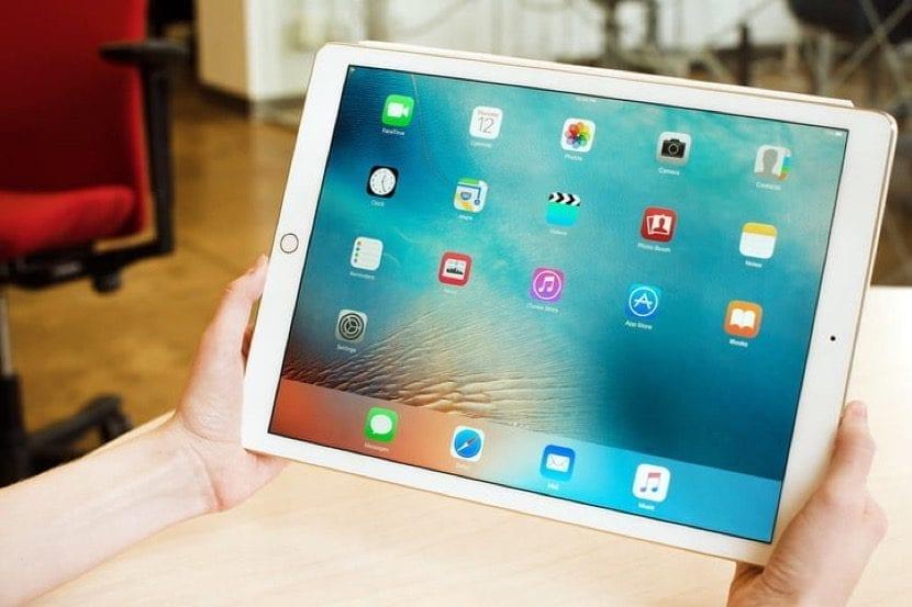 iPad Air listo para borrar contenido