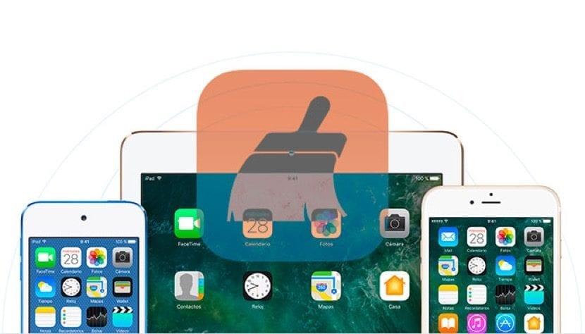 Borrar todos los datos iPad