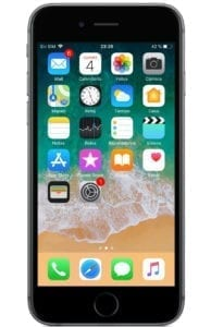Pantalla principal iPhone