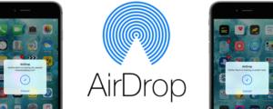 AirDrop en iPhone