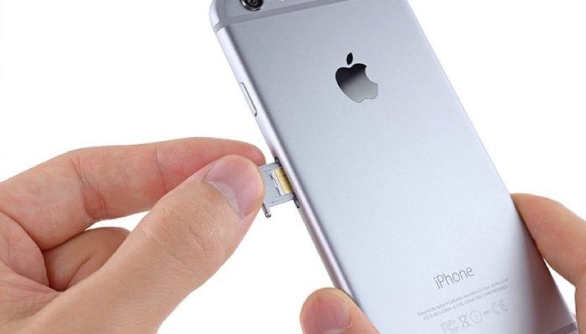 Bandeja SIM iPhone