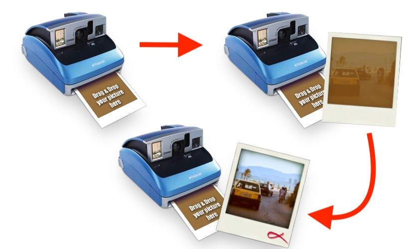 Transformar foto a Polaroid