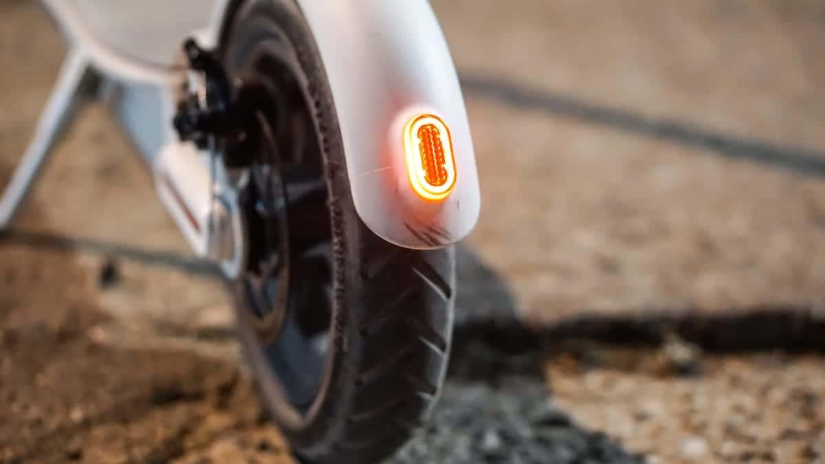 Luz trasera del Xiaomi Mi Scooter