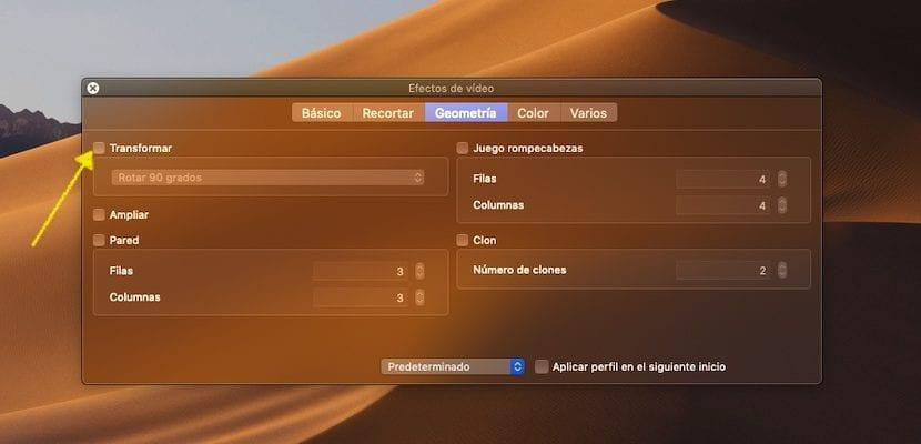 Rotar un vídeo con VLC de forma gratuita