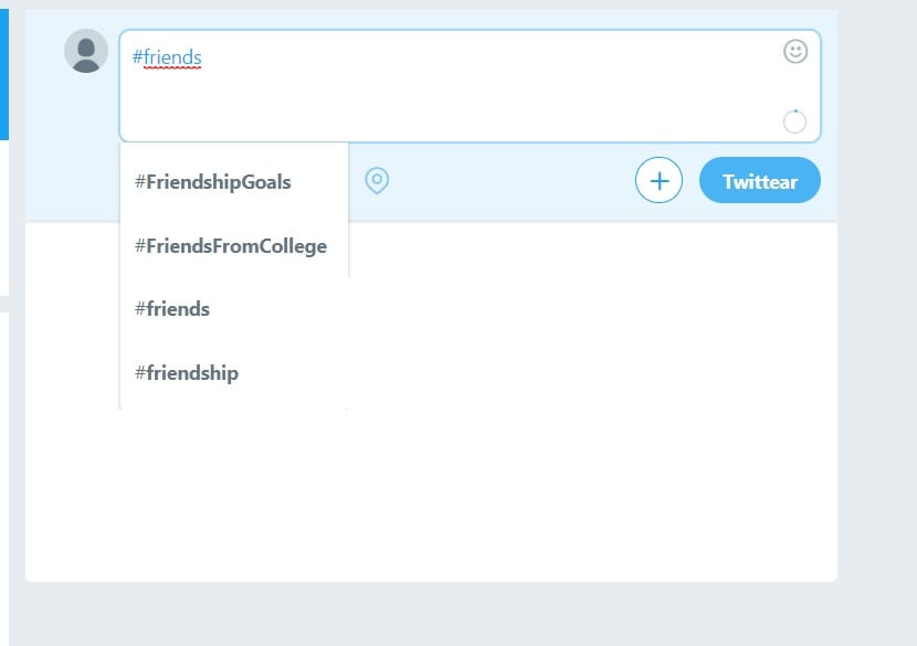 Usar hashtag en Twitter