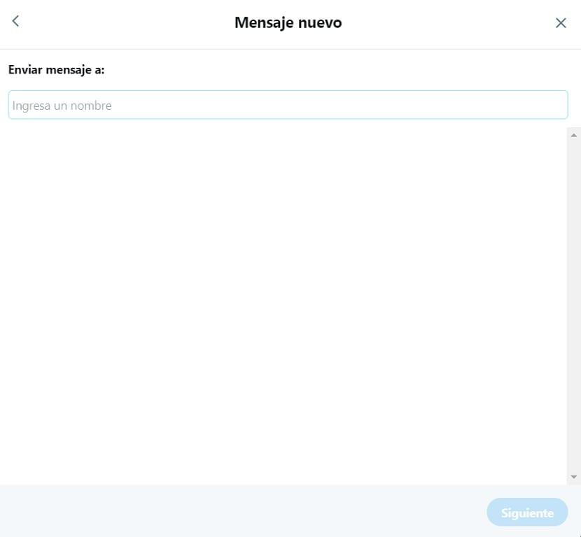 Mensaje privado