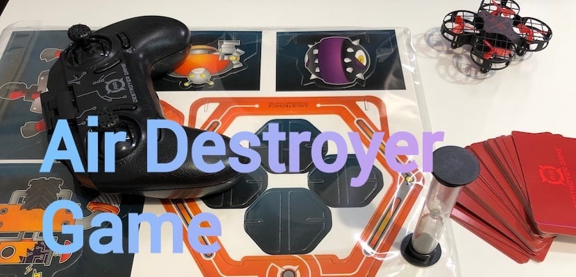 Air Destroyer Game, un juego interactivo con drones de Jugetrónica