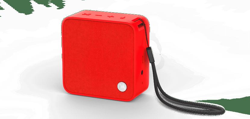Altavoz rojo Motorola