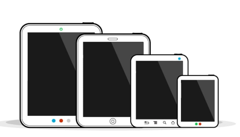 Tamaño pantalla tablet