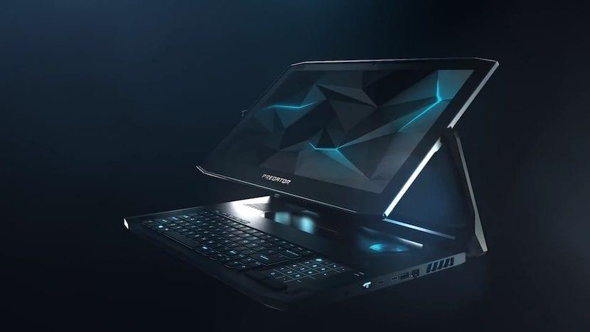 Predator Triton 900 de Acer.