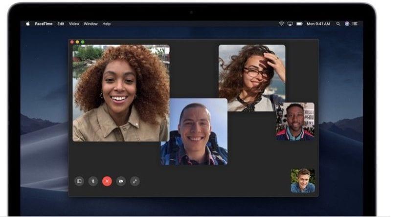 Llamadas FaceTme en grupo