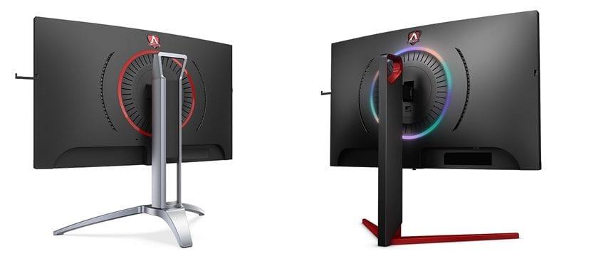 Monitores curvos de AGON para gaming