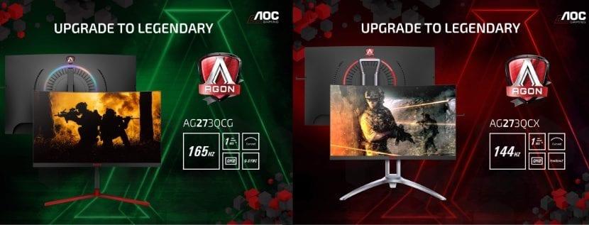 Monitores AOC Series AGON 3 para gaming