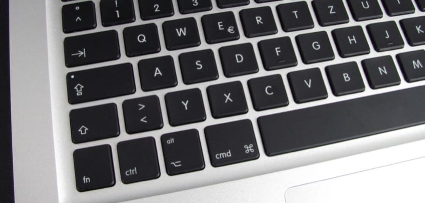 Teclado MacBook Pro
