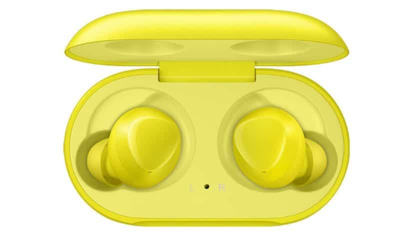 Galaxy Buds amarillos
