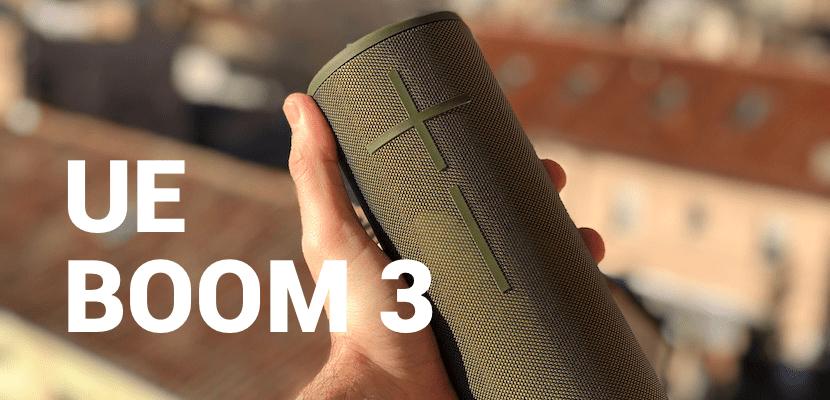 Ultimate Ears BOOM 3, el altavoz todoterreno y todo calidad