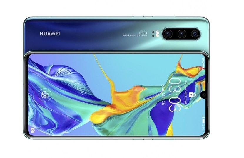 Huawei P30 Aurora