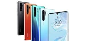 Huawei P30 Pro Colores Portada