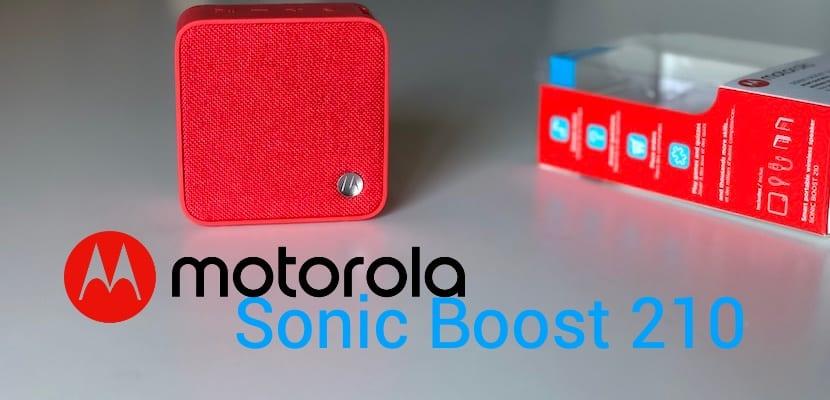 Motorola Sonic Boost, altavoz inalámbrico con Alexa a bajo coste