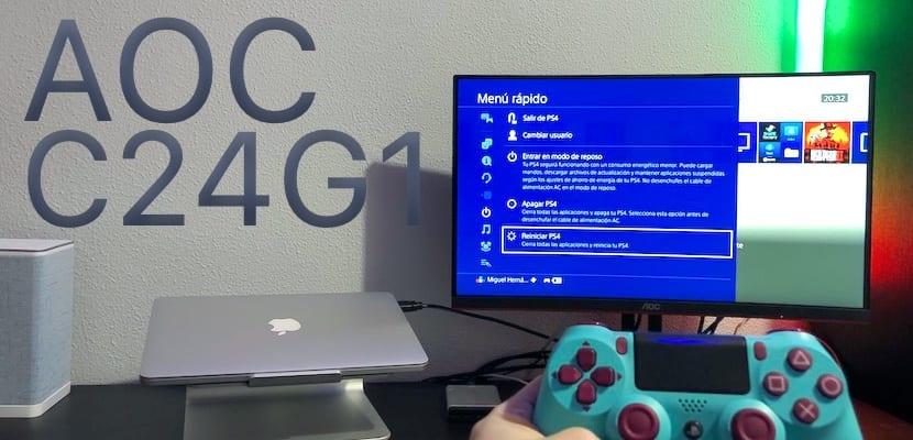 Análisis y características del monitor gaming AOC C24G1