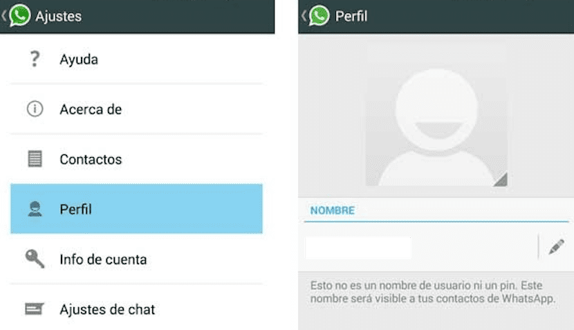 Perfil WhatsApp