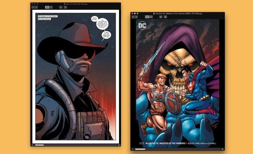 Comic Reader - Abrir archivos CBR en Mac