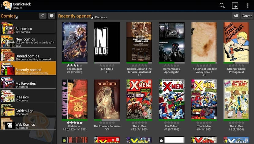 ComicRack - Abrir archivos CBR en Windows