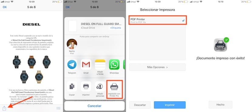 Crear documentos PDF en iOS