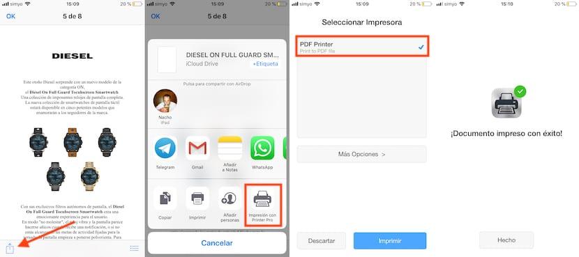 Crear documentos PDF en iOS
