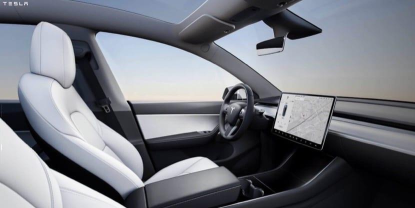 Interior Tesla Model Y
