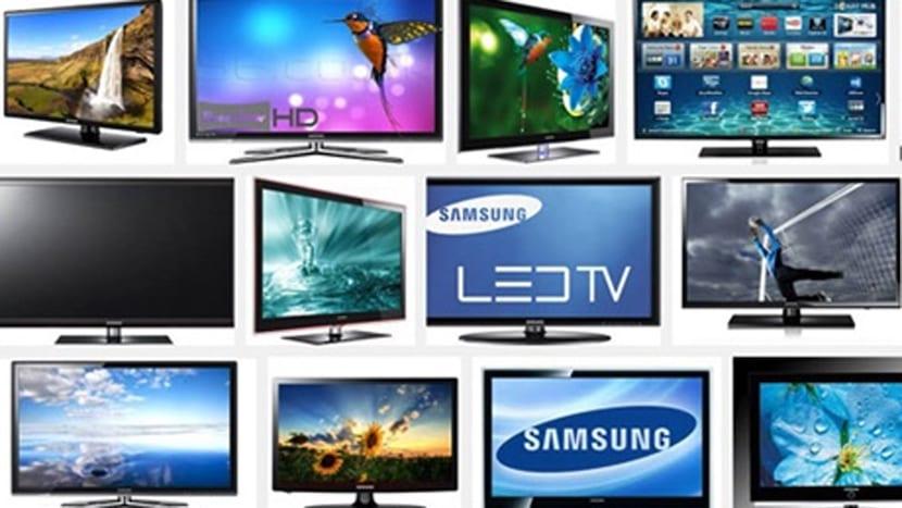 Varios televisores