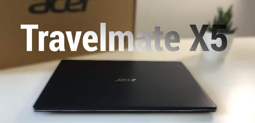 Analizamos el nuevo Acer Travelmate X5