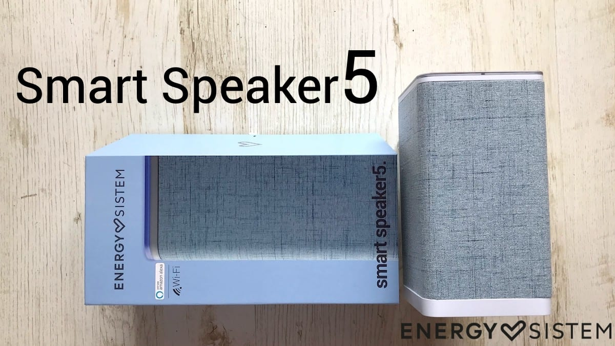 Energy Sistem smart speaker 5 portada