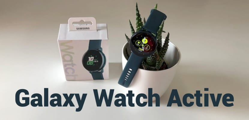 Análisis del Samsung Galaxy Watch Active