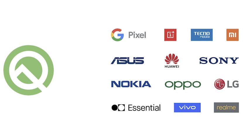 Smartphones compatibles beta Android Q
