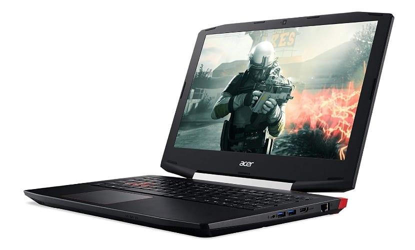 Portátil Acer VX5-591G-5872 Gaming