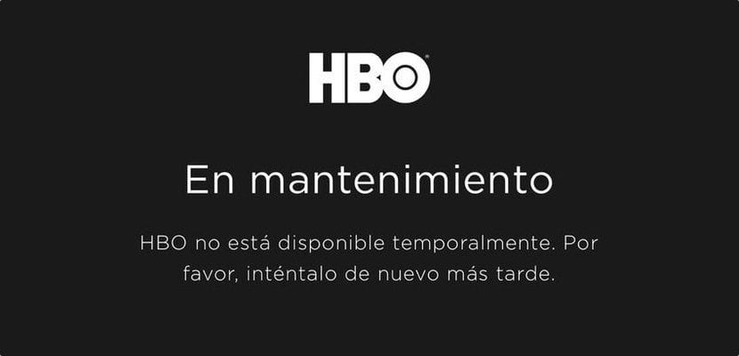 Problemas con HBO