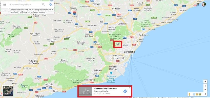 Obtener coordenadas Google Maps