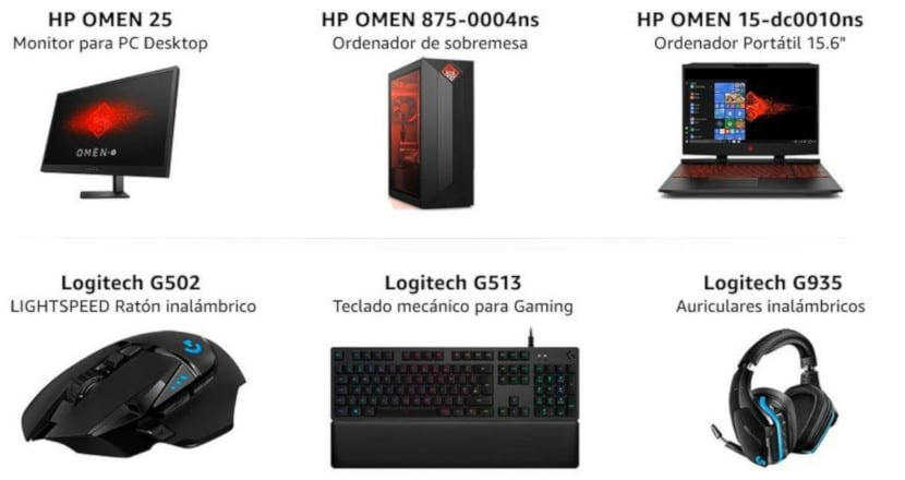 Ofertas Amazon en productos Gaming