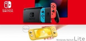 Nintendo Switch y Nintendo Switch Lite