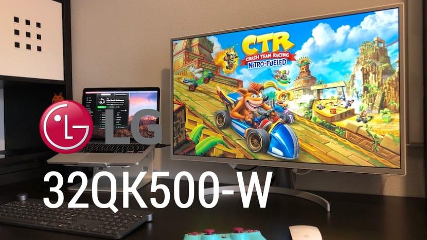 LG 32QK500-W un monitor QHD a un precio interesante, lo probamos