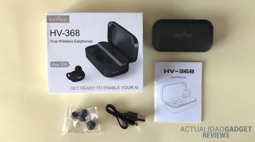 HolyHigh HV-368 contenido caja