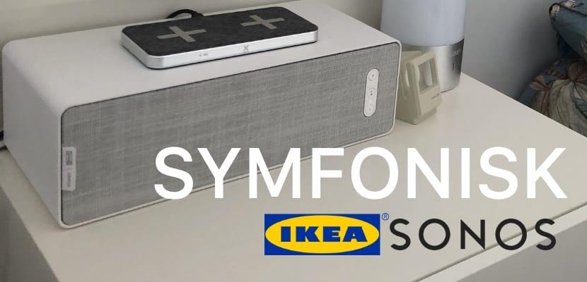 Balda SYMFONISK de IKEA y Sonos