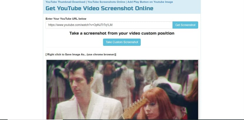 Get YouTube Screenshot Online