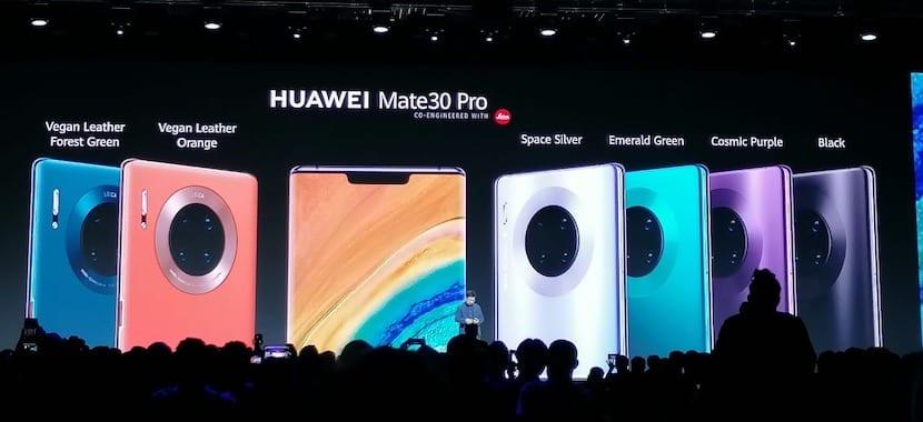 Huawei Mate 30 y Mate 30 Pro: La gama alta se renueva