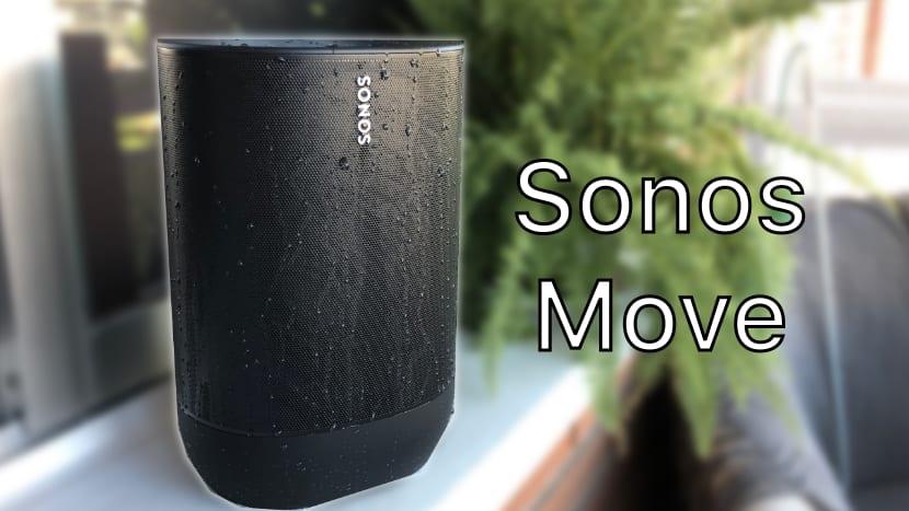 Sonos Move, el nuevo altavoz de Sonos sale al exterior