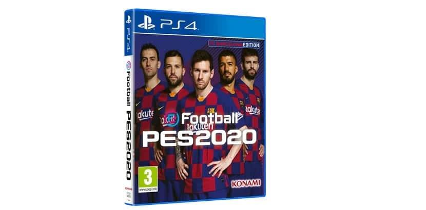 eFootball PES 2020 Edición FC Barcelona