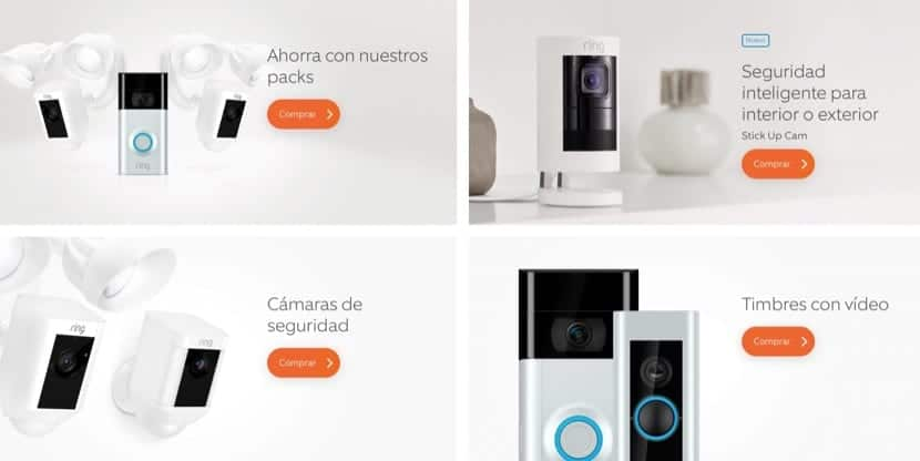 Ring productos