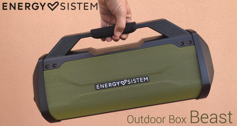 Energy Sistem Outdoor Box Beast portada
